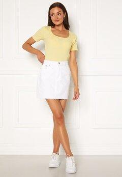 Dr. Denim Mallory Denim Skirt 199 White Bubbleroom.se
