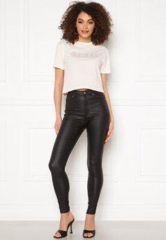 Dr. Denim Moxy Coated Jeans A09 Black Metal Bubbleroom.se