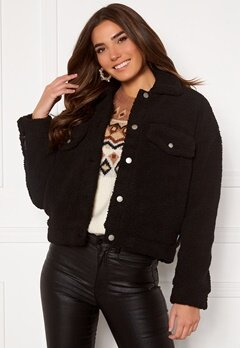 Dr. Denim Pixley Jacket 101 Black Bubbleroom.se