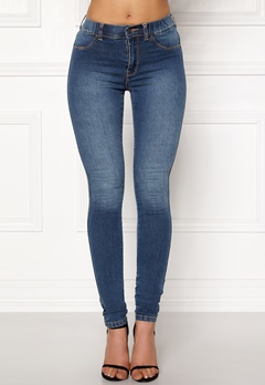 Dr. Denim Plenty Worn Mid Blue Bubbleroom.se