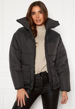 Dr. Denim Whitney Puffer Jacket B85 Graphite Bubbleroom.se