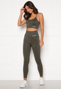 Drop of Mindfulness Cora seamless leggings Dark Olive Bubbleroom.se