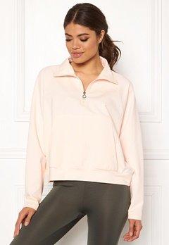 Drop of Mindfulness Essa Zipped Sweater 518 Pink Stone Bubbleroom.se