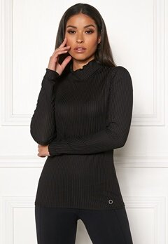 Drop of Mindfulness Madelyn Rib Sweater 001 Black Bubbleroom.se