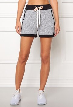 Drop of Mindfulness Soho Shorts Grey Melange Bubbleroom.no