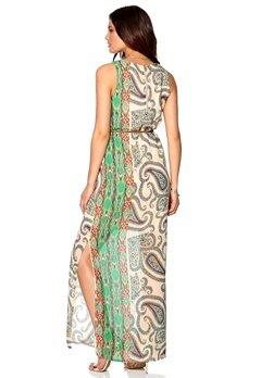 DRY LAKE Andressy Print Long Dress Summer Love Bubbleroom.se
