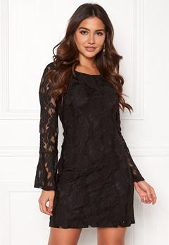 DRY LAKE Beatrice Dress Black Bubbleroom.se