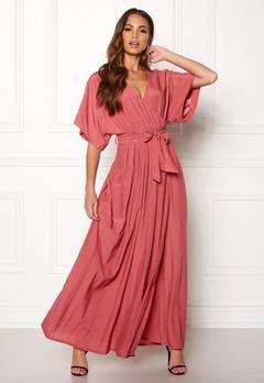 DRY LAKE Florence Dress Dull Pink Bubbleroom.se