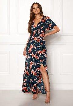 DRY LAKE Jasmin Long Dress Petal Print Bubbleroom.se