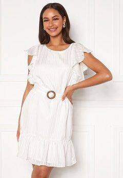 DRY LAKE Kharma Dress 142 White Stripe Jac Bubbleroom.se