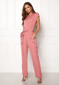 DRY LAKE Mabel Playsuit Dull Pink Bubbleroom.se