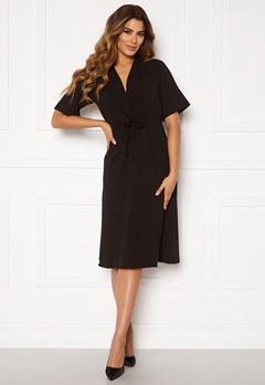 DRY LAKE Macay Mid Dress 001 Black Bubbleroom.se