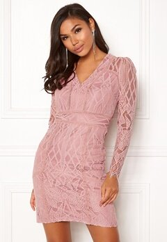 DRY LAKE Miranda Dress Misty Rose Bubbleroom.se