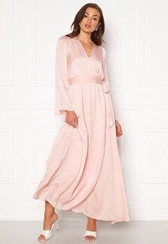 DRY LAKE Robyn Long Dress 526 Pink Pale Bubbleroom.se