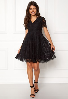 DRY LAKE Serena Dress Black Lace Bubbleroom.se