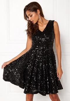 DRY LAKE Serena Dress Black Sequin Bubbleroom.se