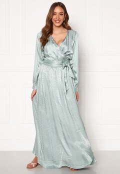 DRY LAKE Sharon Long Dress 330 Mint Green Zig Z Bubbleroom.se