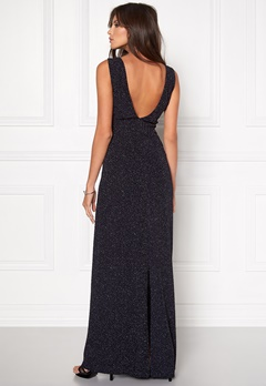 DRY LAKE Space Long Dress Sparkling Navy Bubbleroom.fi
