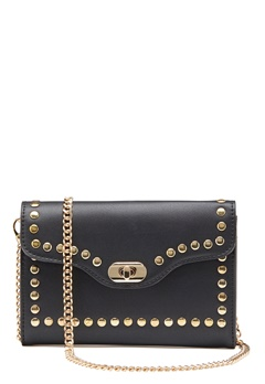 ONLY Elisa Stud Crossbody Bag Black/Gold Bubbleroom.se