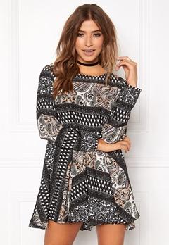 Rut & Circle Ellen Dress 061 Olive Comb Bubbleroom.se