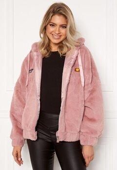 Ellesse El Giovanna Jacket Hoody Pink Bubbleroom.se