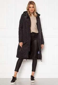 Ellesse Mundia Parka Jacket Outwear Black Bubbleroom.se