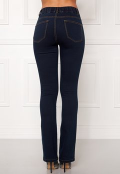 Happy Holly Elwira bootcut jeggings Dark denim Bubbleroom.fi