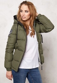 D.Brand Eskimå Jacket Olive Green Bubbleroom.no