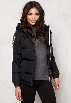 D.Brand Eskimo Jacket Black/Black Bubbleroom.no