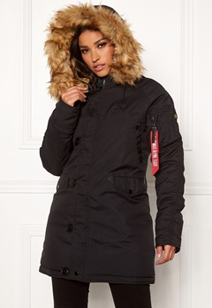 Alpha Industries Explorer Jacket Black Bubbleroom.se