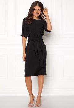 DAGMAR Faustine Dress Black Bubbleroom.se