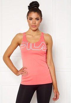 FILA Aisha Racer With Bra Shell Pink/White Bubbleroom.se