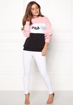 FILA Angela Crew Sweat Coral Blush Bubbleroom.se
