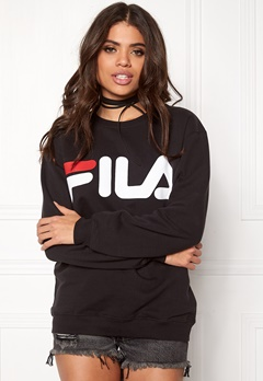 FILA Basic Classic Logo Sweat Black Bubbleroom.se