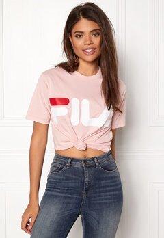 FILA Basic Classic Logo Tee Peach Bubbleroom.se