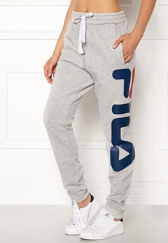 FILA Classic Basic Sweatpants Light Grey Melange Bubbleroom.se