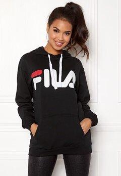FILA Classic Logo Hood Kangaro Black Bubbleroom.se