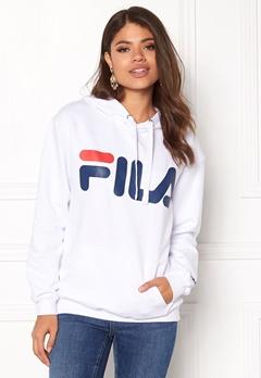 FILA Classic Logo Hood Kangaro White Bubbleroom.se