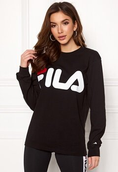 FILA Classic Logo Long Sleeve Black Bubbleroom.se