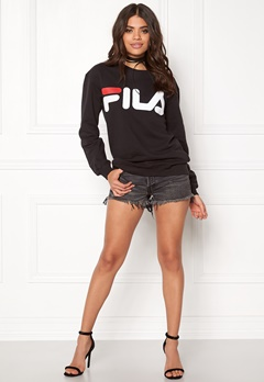 FILA Classic Logo Sweat Black Bubbleroom.se