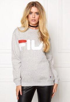 FILA Classic Logo Sweat Grey Melange Bubbleroom.fi