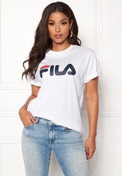 FILA Classic Pure SS Tee Bright White Bubbleroom.se
