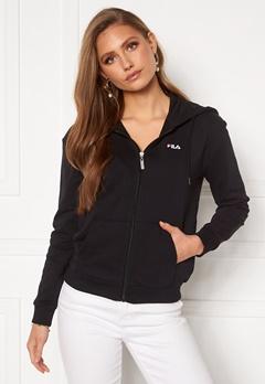 FILA Ebony Sweat Jacket 002 Black Bubbleroom.se