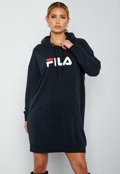 FILA Elish Hoody Dress 2 Black bubbleroom.se