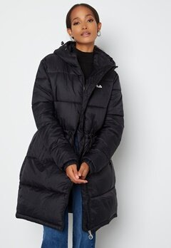 FILA Embla Long Puffer Jacket 2 Black bubbleroom.se
