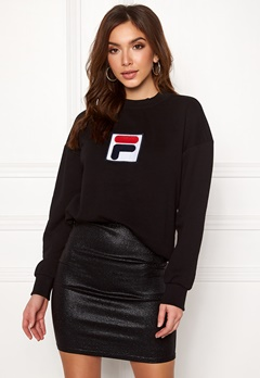 FILA Erika Crew Sweat Black Bubbleroom.se