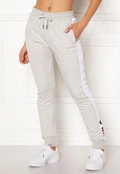 FILA Freya Sweat Slim Pant Light Grey Mel Bubbleroom.se