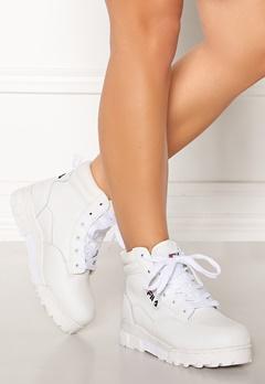 FILA Grunge L Mid Boots White Bubbleroom.se