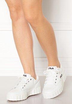 FILA Sandblast Sneakers 1FG White Bubbleroom.se