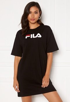 FILA Satinka Tee Dress 002 Black Bubbleroom.se